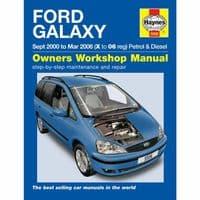 Haynes Manual Ford Galaxy 2.3 Petrol 1.9 Diesel 2000-06 Workshop Manual